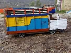 camion de madera para bebes o niños hasta de 10 años