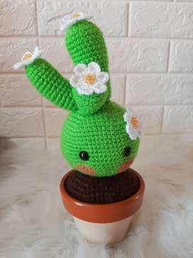 Muñeco Tejido Baby Cactus