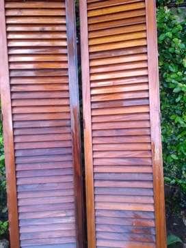Puertas Placard de cedro