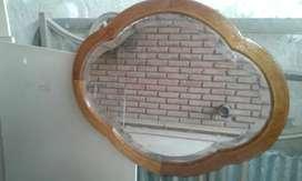 Espejo viselado antiguo vendo