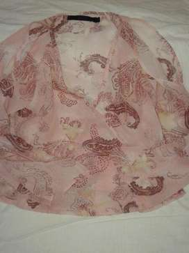Tunica, Blusa, Remeron, Mujer  nylon estampado arabescos T L