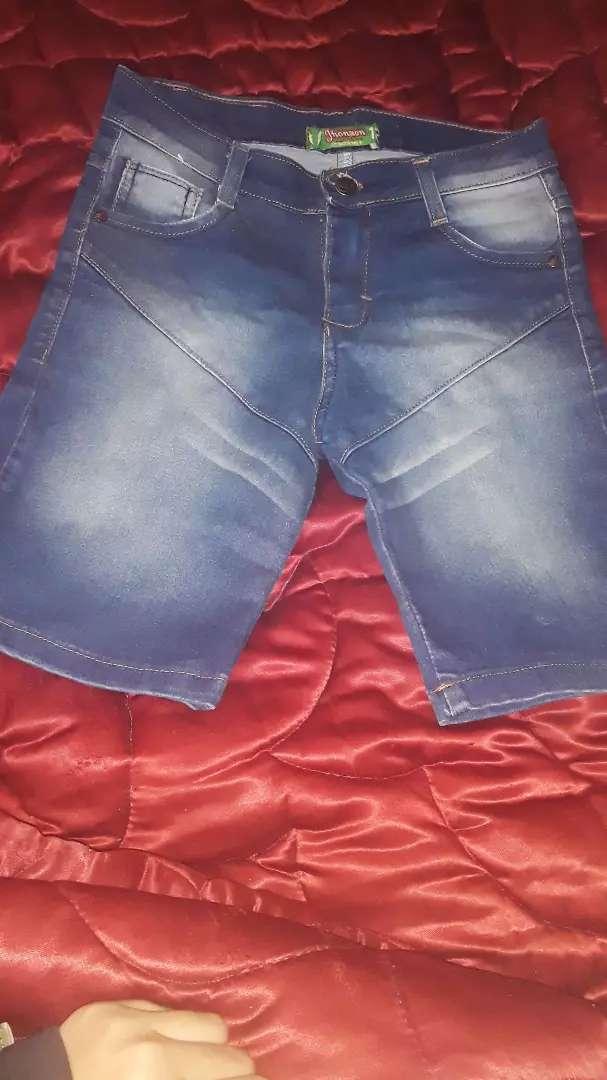 Jeans corto 0