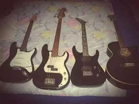 Venta de guitarras $250 las tres