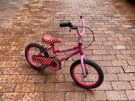 Bicicleta para niña cros