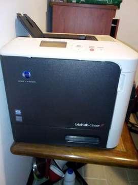 Vendo impresora Laser a color Konica Minolta Bizhub C3100P