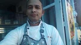 Me ofrezco como auxiliar o cocinero