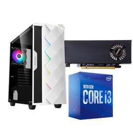 PC GAMER INTEL I3 10100F RX 550 8GB 3000MHZ
