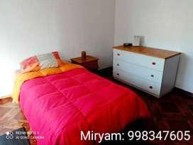 alquiler de habitación en departamento en Mirafloresres
