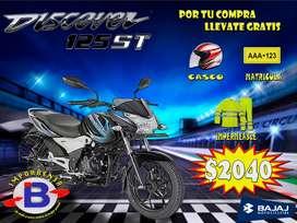 MOTO DISCOVER BAJAJ 125-ST GRATIS CASCO, MATRICULA E IMPERMEABLE