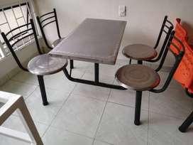 mesas para restaurante o panaderia