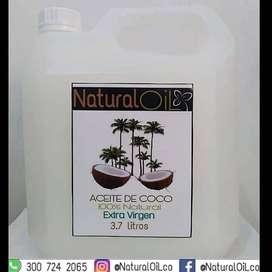Aceite de Coco Extra Virgen 3.7 Litros segunda mano  San Bernardo