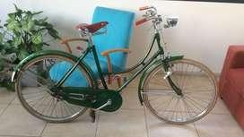 "¡Cleta antigua! Bicicleta marca ""Sevillano"" original (no restaurada) Impecable"