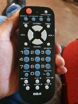 Controles  smart y normales de televisor    a domicilio