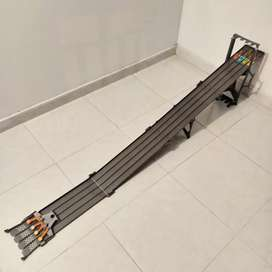 Hotwheels 4 Lane Race way, pista de carreras
