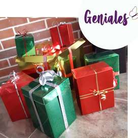 Navidad: Cajas Navideñas Decorativas