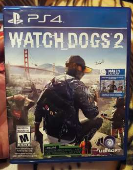 JUEGO WATCH DOGS 02 PS4 S/.50 Soles