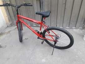 Bicicleta aro 26 total mente nueva