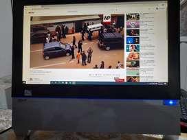 Acer Aspire All in one pantalla de 22 Pulgadas Full HD