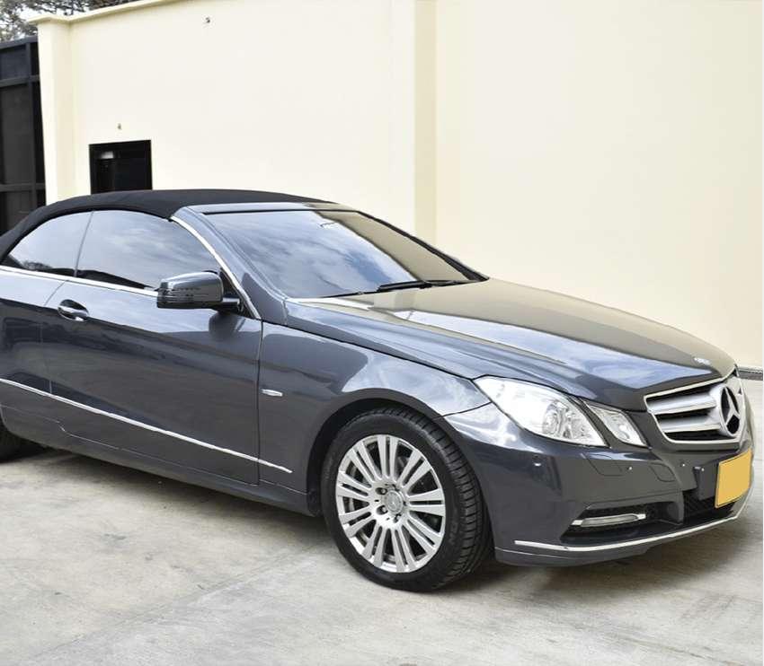 Mercedes Benz Clase E Versión E200 Cabrio Descapotable 2011. Perfecto Estado.