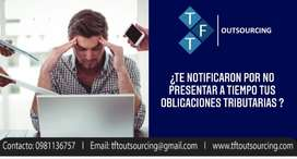 OFRECEMOS SERVICIOS  CONTABLES-TRIBUTARIOS-TALENTO HUMANO