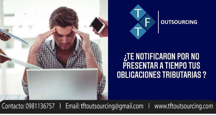 OFRECEMOS SERVICIOS  CONTABLES-TRIBUTARIOS-TALENTO HUMANO 0