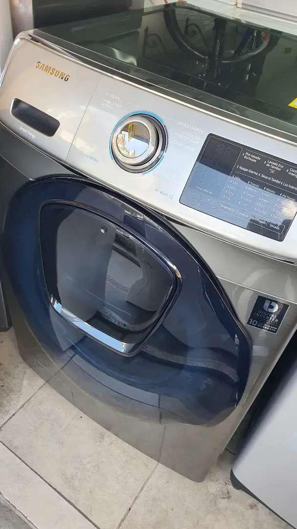 Vendo lavadora y secadora samsung de 40 libras 0