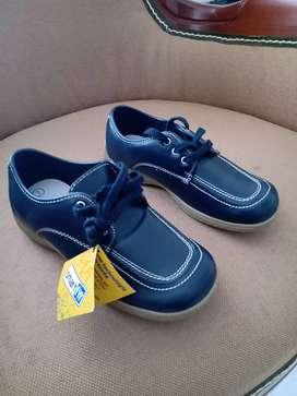 Zapatos colegiales azules talla 32