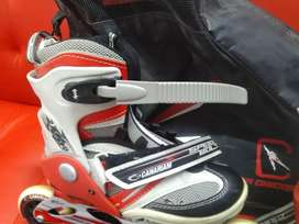 PATINES SEMI-PROFESIONALES CANARIAN ROLLER team 90 mm goma.