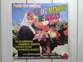 Lp Vinilo La Del Manojo de Rosas Pablo Sorozabal (Ver DESCUENTOS)