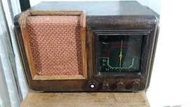 Radio Valvular Antigua Funcionando