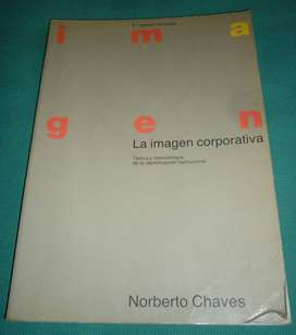 LA IMAGEN CORPORATIVA . NORBERTO CHAVES . 3a EDICION 1994 LIBRO MARKETING