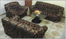 forros de mueble 3 piezas diseño floreado