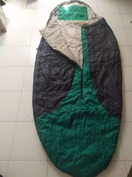 Sleeping verde con negro