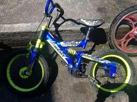 Vendo bicicleta adquirida en jugueton
