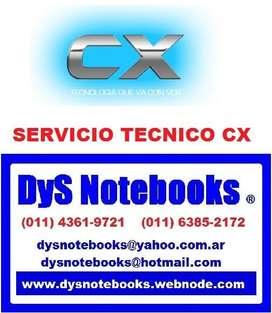 CX SERVICIO TECNICO NOTEBOOK NETBOOK LAPTOP