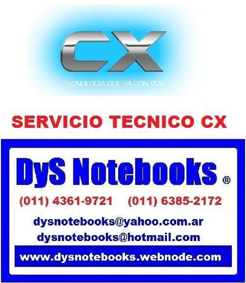 CX SERVICIO TECNICO NOTEBOOK NETBOOK LAPTOP 0