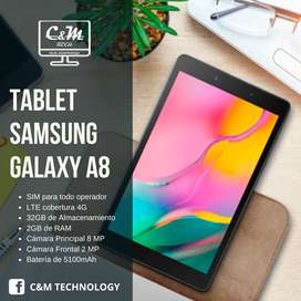 Tablet Samsung Galaxy Tab A, 8 Con Chip , de regalo AUDIFONOS SONY MDR-ZX110