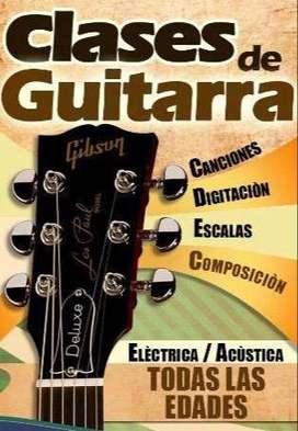 CLASES DE GUITARRA Y CANTO