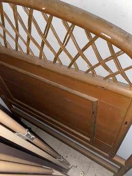 Espaldar de cama de madera excelente