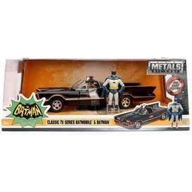 Figura Metals Die-cast: Batman Batmobile 1966