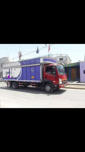 VENDO HERMOSO CAMION ISUZU FORWARD 800