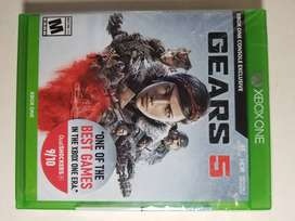 Gears Of War 5 Para Xbox One. Físico, Nuevo Y Sellado