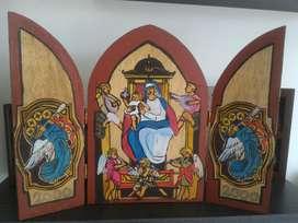 Arte Religioso sobre Madera Icono