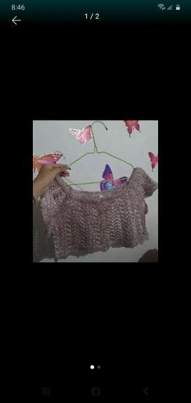 Blusa oro rosa