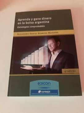 Aprenda y gane dinero en la bolsa Argentina