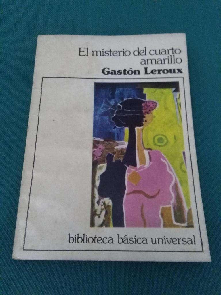 EL MISTERIO DEL CUARTO AMARILLO . GASTON LEROUX LIBRO SUSPENSO