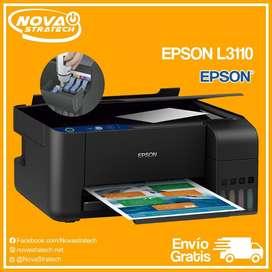Impresora Epson L3110 Multifuncion Tinta Continua Original de Fabrica