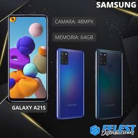 Celular SAMSUNG Galaxy A21S 64GB NUEVO