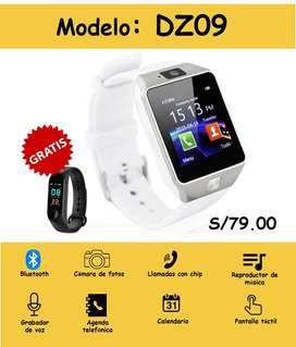 SmartWatch DZ09 PROMOCIÓN + BandaSmart