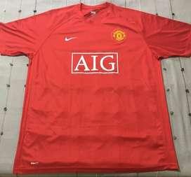 Camiseta Manchester United Original 2007/2008
